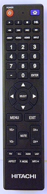 hitachi le55a6r9a. hitachi 850125633 tv remote control le55a6r9a 5