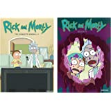 Rick and Morty DVD Complete Series Season 1-4