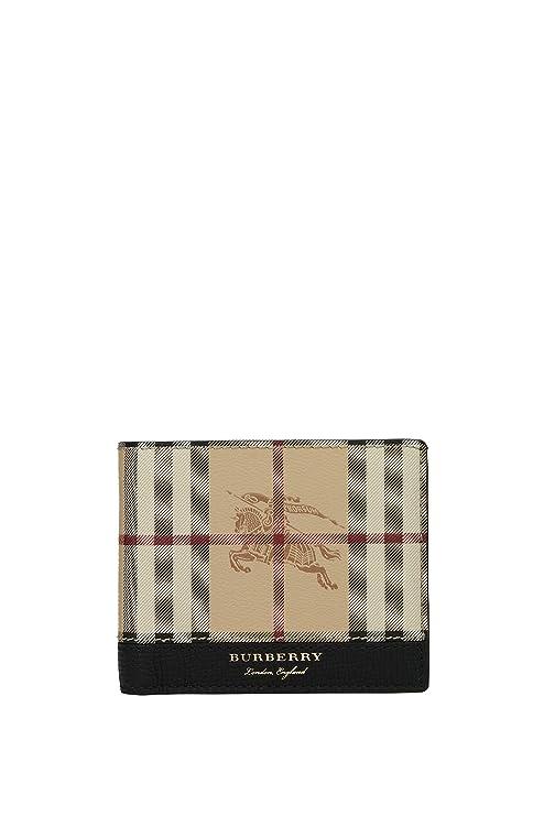 Billeteras Burberry Hombre - Tejido (UOMO406523)