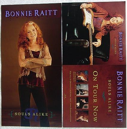 Amazon Com Bonnie Raitt Souls Alike Two Sided Poster New