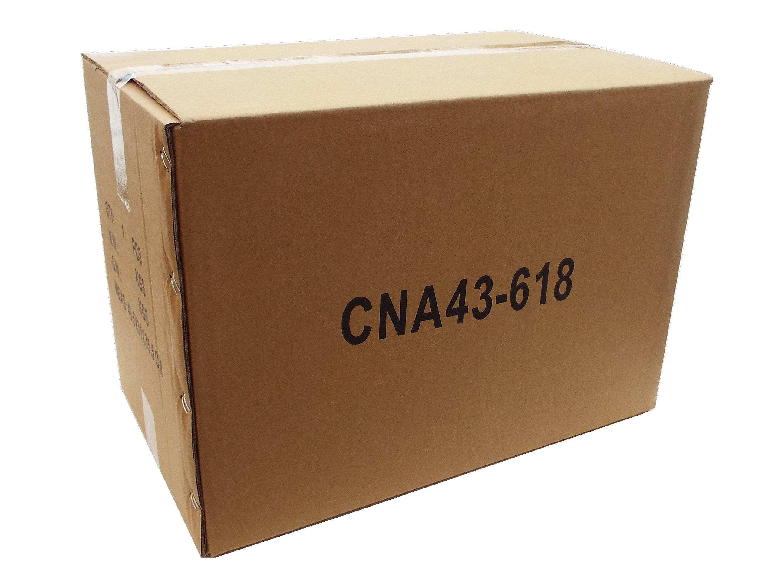 CNAweb 7U 19-Inch Hinged Network Wall Mount Equipment Rack Bracket - Black by CNAWEB