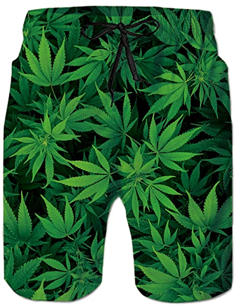 51dd986b60cdf RAISEVERN Swim Trunks Summer Beach Shorts Pockets Boardshorts for Men with Mesh  Lining - - XXL: Amazon.co.uk: Clothing