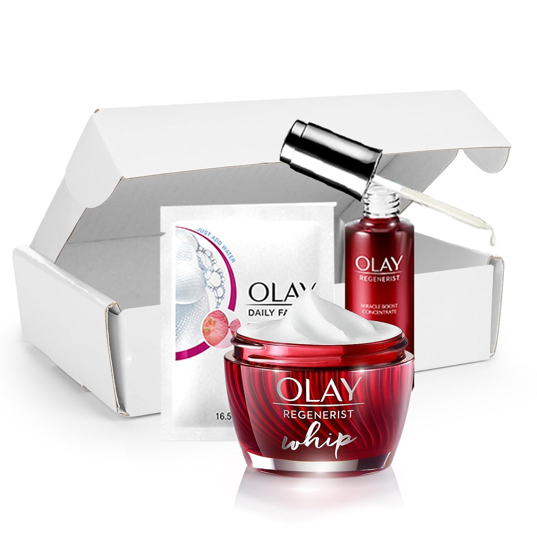 Olay Light Face Moisturizer Cream, Oil Free, Regenerist Whip