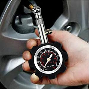 LeGow High Accurate Car Tire Pressure Gauge 360¡Adjustable for Auto and Motorcycle Heavy Duty Tyre Pressure Gauge