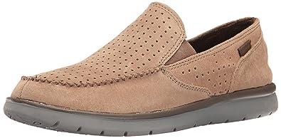 Merrell Men's Laze Perf Moc Fashion Sneaker, Otter, ...
