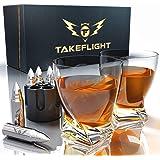 Whiskey Glasses and Whiskey Bullets - Premium Whiskey Glass Set