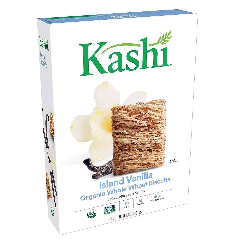 Kashi, Breakfast Cereal, Island Vanilla, Organic, 16.3oz Box