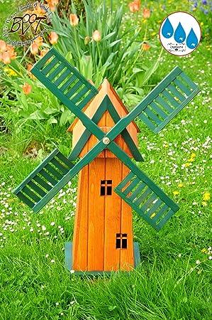 Windmill 4eckig Large Garden Windmill 100 Cm Solid Wood Modern Design U2013  E6CK100 Womenu0027s OS With
