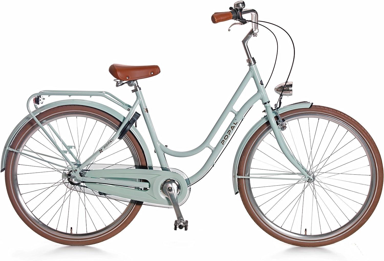 Estilo Retro Aqua para mujer bicicleta holandesa Omafiets ...