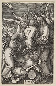 Berkin Arts Albrecht Durer Giclee Art Paper Print Art Works Paintings Poster Reproduction(The Betrayal of Christ from The Passion) #XZZ