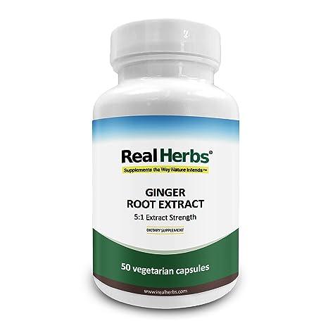Extracto de raíz de jengibre - 700mg de extracto de raíz de jengibre PE 5: