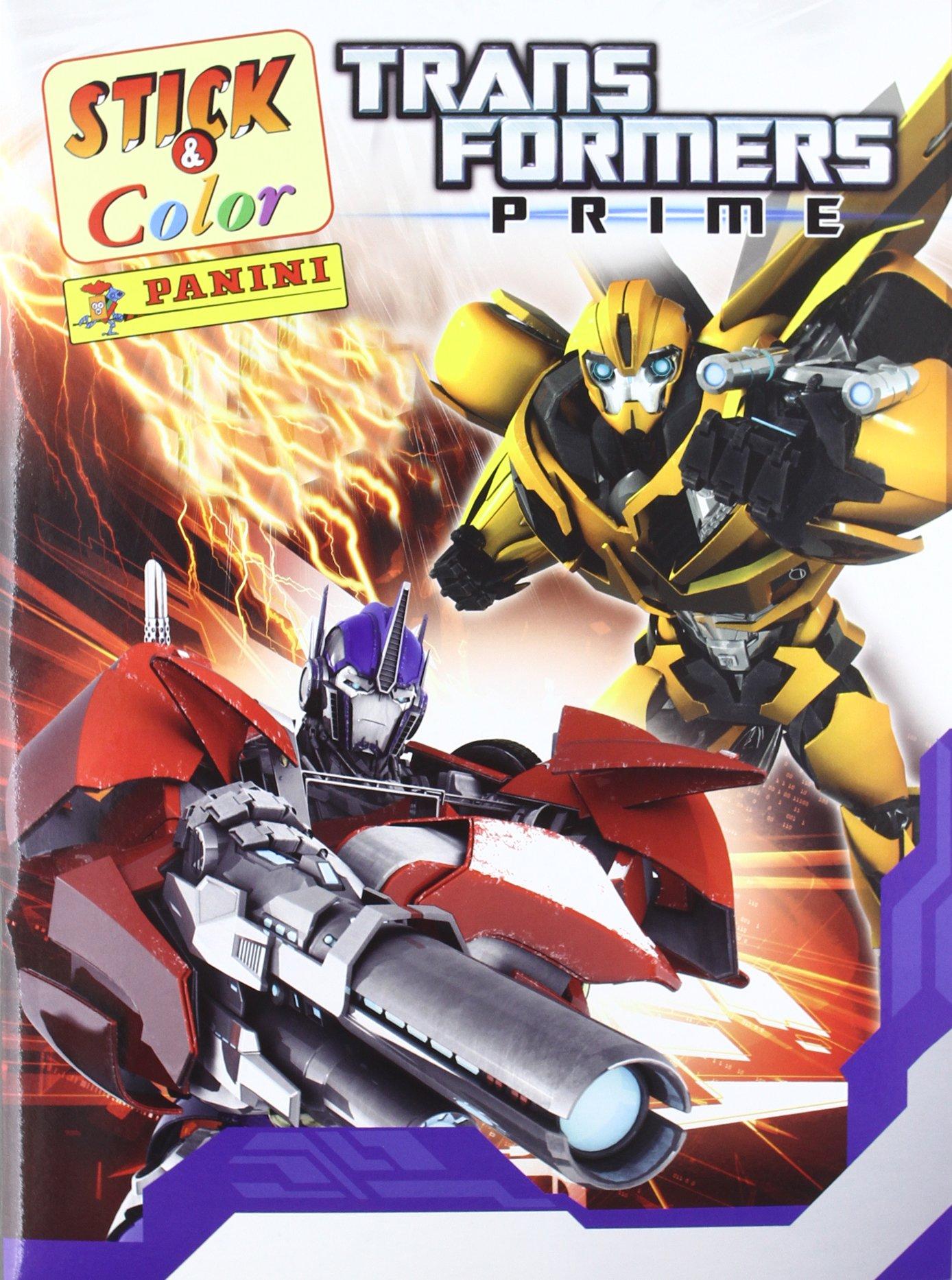 Transformers Prime. Stick & Color: Amazon.es: VV.AA.: Libros en idiomas extranjeros