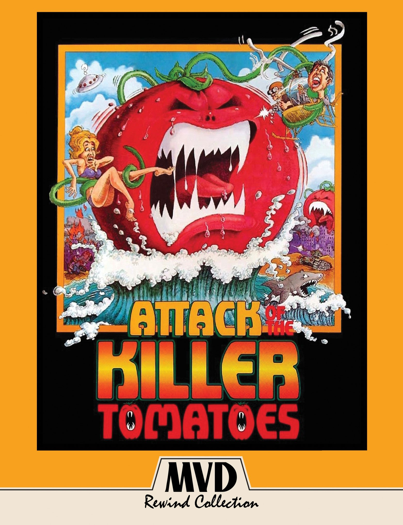 Blu-ray : Attack Of The Killer Tomatoes (With DVD, Special Edition, 2 Disc)