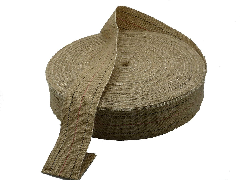 Cincha Yute de tapicería, 12 metros, correas de 80 mm. de ...