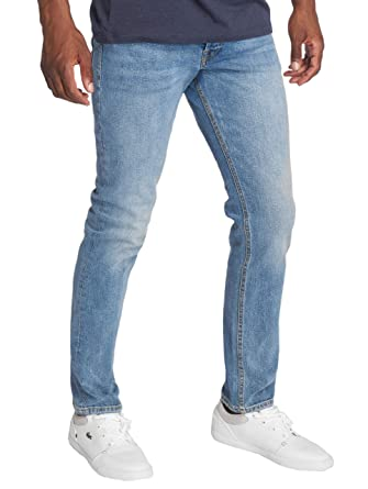affordable price wholesale online lace up in Jack & Jones Men's Tim Slim Fit Jeans (Blue Denim, 28W x 32L ...