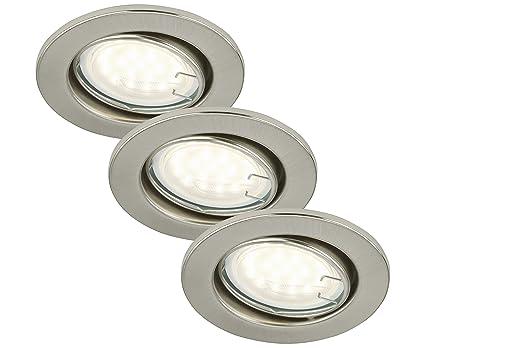 Briloner Leuchten LED Einbaustrahler, Einbauleuchte, Deckenspot, LED ...