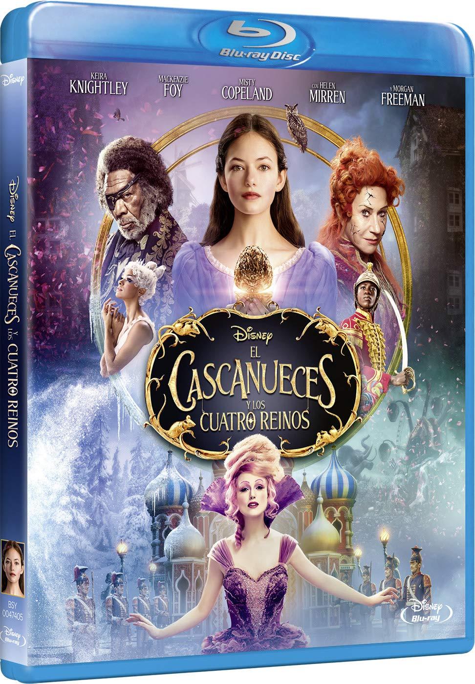 El Cascanueces y los cuatro reinos dvd