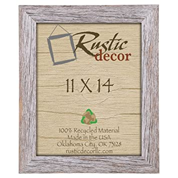 11x14 125 standard reclaimed rustic barnwood wall frame