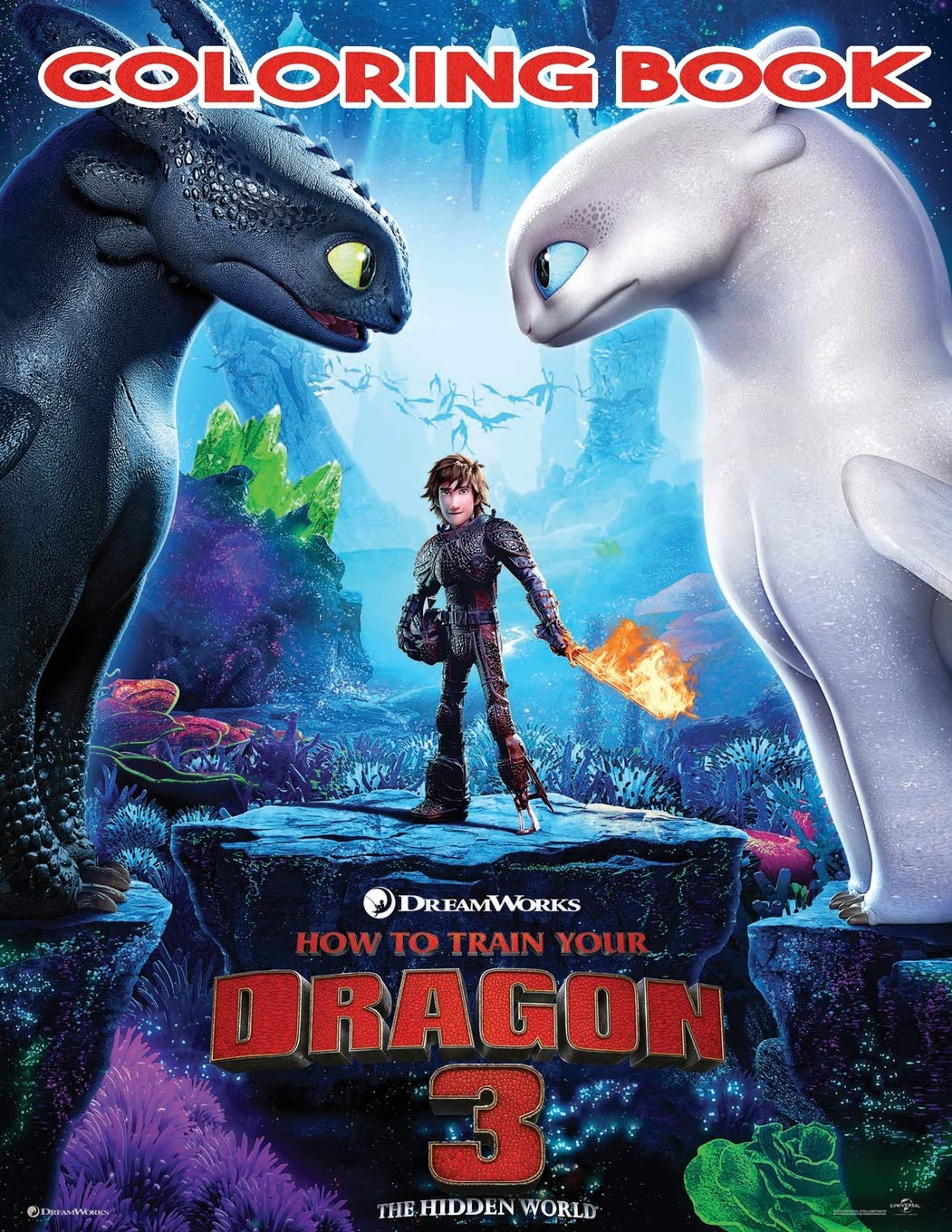 - Amazon.com: How To Train Your Dragon 3 Coloring Book: Includes All