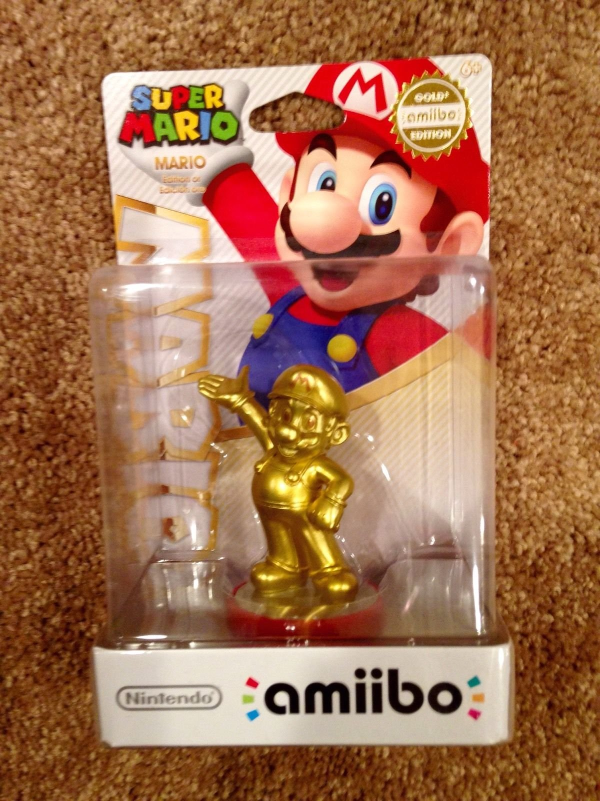 Mario - Gold amiibo (Super Mario Bros Series) by Nintendo