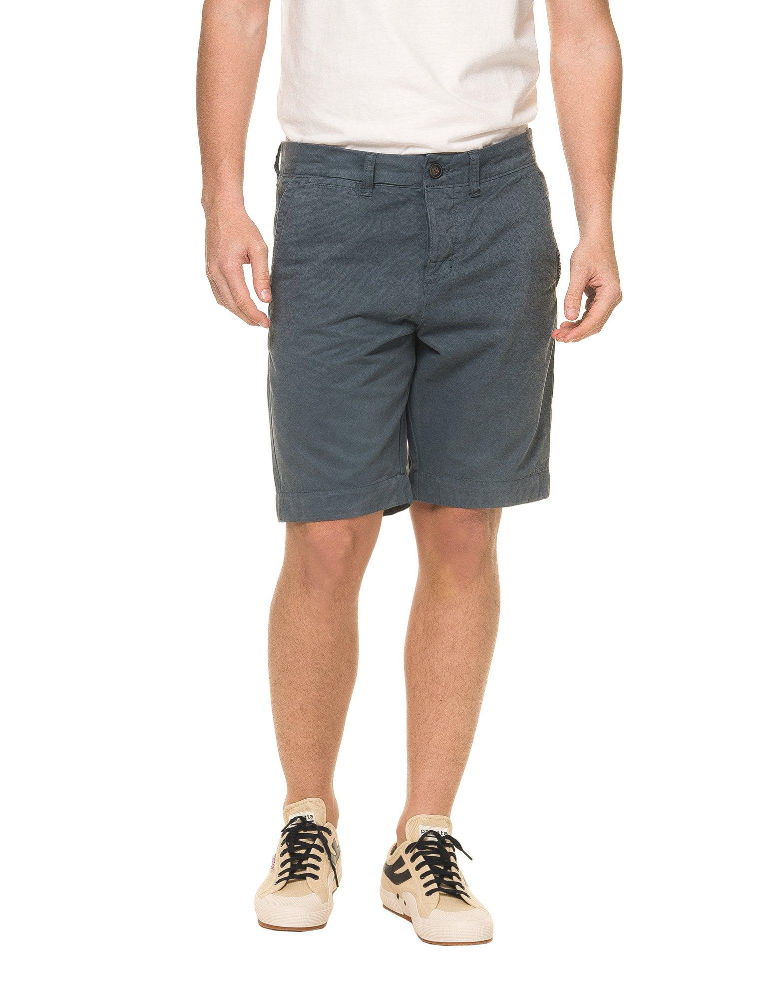 Superdry Men's International Chino Short Men's Blue Shorts in Size M Blue