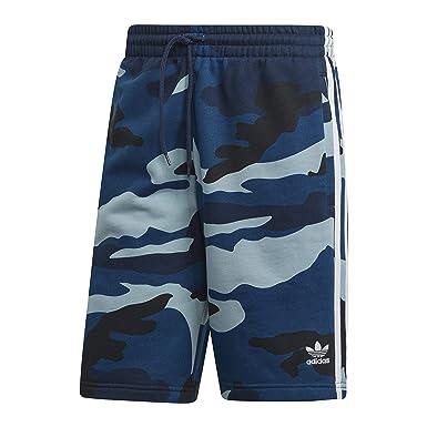 adidas Originals Camo Shorts Navy | Mainline Menswear