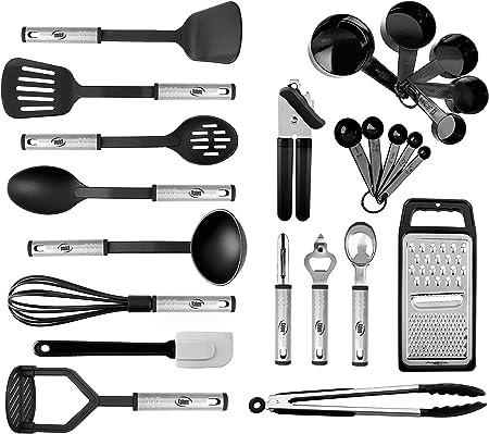 Amazon.com: Kaluns - Juego de 24 utensilios de cocina de ...