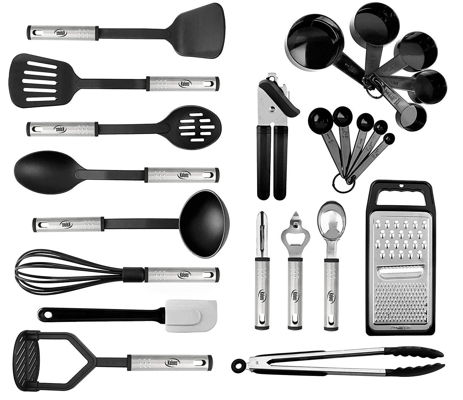 Kitchen Utensil Set 24 Nylon Stainless Steel Cooking Supplies Non Stick And Heat Resistant Cookware Set New Chef S Kitchen Gadget Tools
