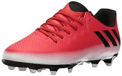 half off 83988 465e5 adidas Performance Kids  Messi 16.3 J Firm Ground Soccer Cleat (10.5) Red