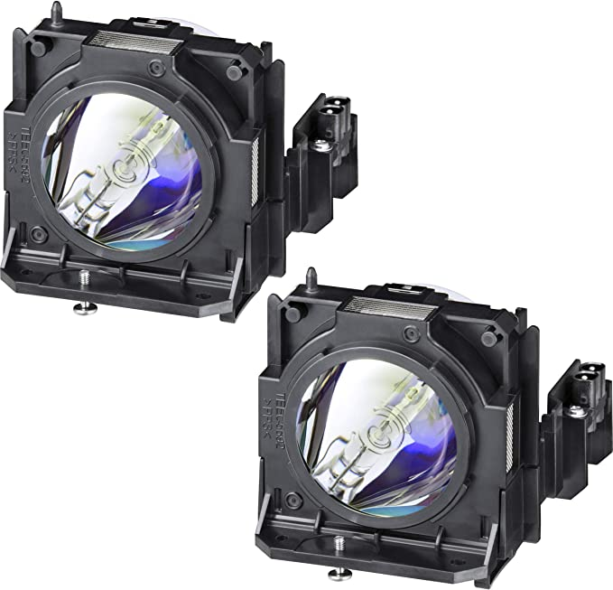 Replacement Lamp with Housing for PANASONIC PT-DX800E TWIN PACK with Genuine Original Phoenix Bulb Inside