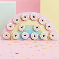 ginger ray Rainbow Donut Wall Holder - Pastel