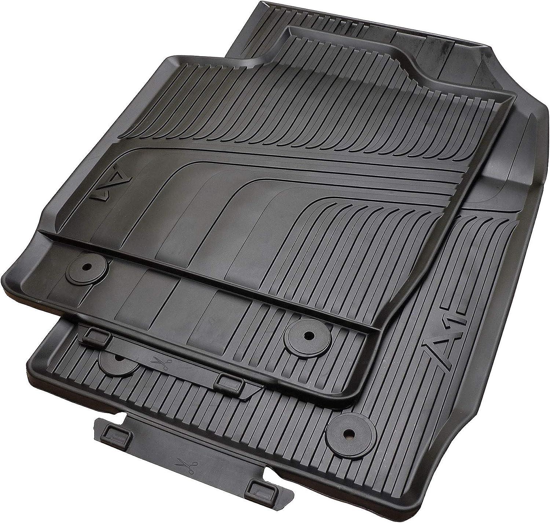 Gummimatten Kofferraumwanne für Audi A1 A2 A3 A4 Allwetter Hoher Rand Antirutsch