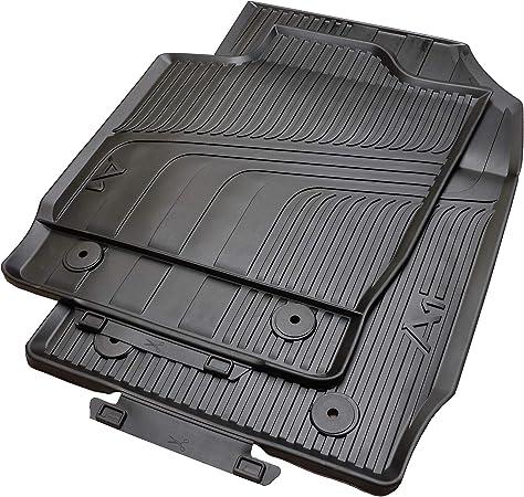 Original MTM Autoteppich Audi A1 S1 Quattro 8X Fußmatten Set 4 teilig Schwarz