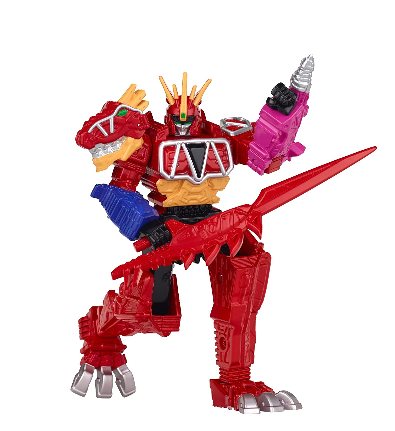 5 Ptera Charge Megazord Action Figure Bandai America Incorporated 43217 Power Rangers Dino Super Charge