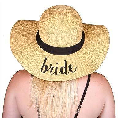 H-2017-B Funky Junque Bridal Sun Hat - Bride at Amazon Women s ... 913b65e645c