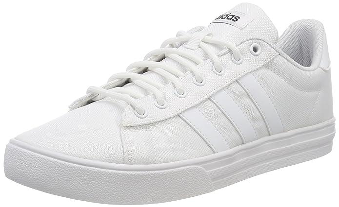 adidas Daily 2.0 Sneaker Herren weiß mit weißen Streifen