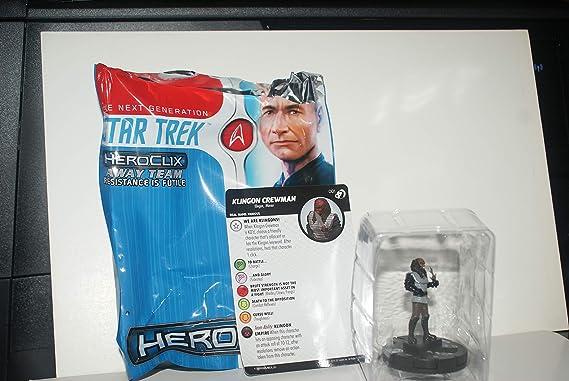 Heroclix Star Trek Away Team TNG Resistance is Futile KLINGON CREWMAN #001
