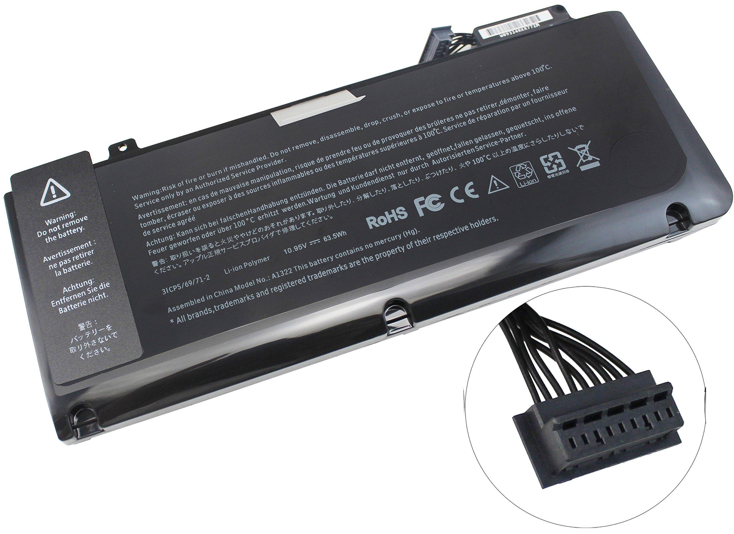 Bateria Para A1322 Para Apple Macbook Pro 13' A1278 2009 2010 2011 2012 Version 020-6547-a 661-5229 661-5557 Mb990ll/a