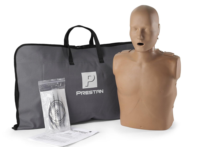 Prestan Professional Adult CPR - AED Training Manikin, Dark Skin Tone