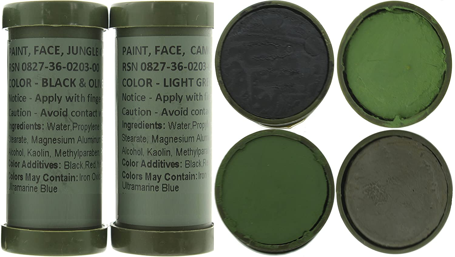 Army Universe Camo Face Paint, NATO Military Camouflage Outdoor Makeup  Jungle Paint Sticks