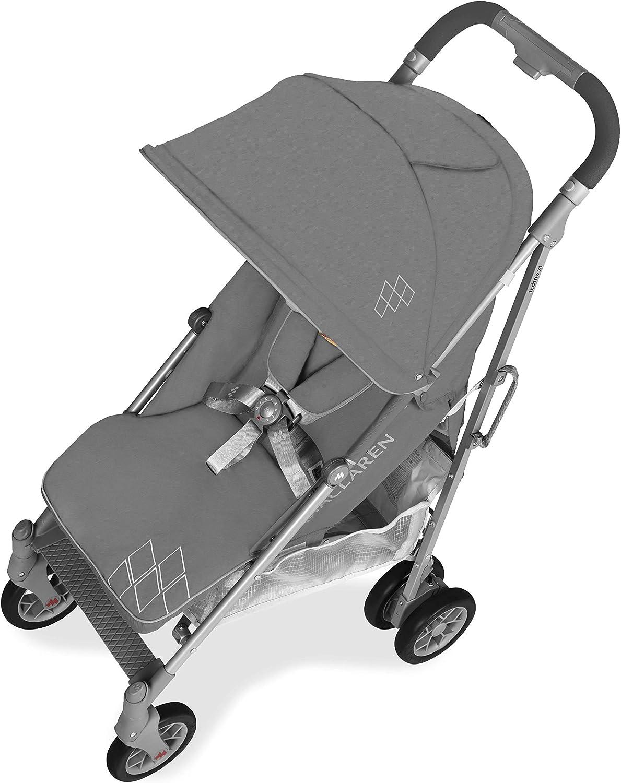 Maclaren Techno arc Silla de paseo Asiento multiposici/ón ligero para reci/én nacidos hasta los 25kg manillar unido suspensi/ón en las 4 ruedas