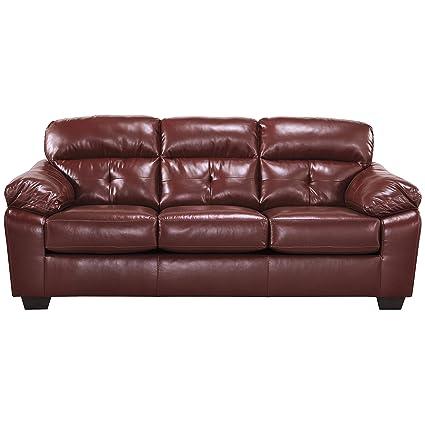 Outstanding Flash Furniture Benchcraft Bastrop Sofa In Crimson Durablend Squirreltailoven Fun Painted Chair Ideas Images Squirreltailovenorg