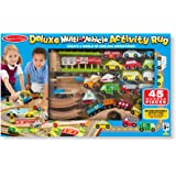 Melissa and Doug MD93085 Deluxe Multi-Vehicle Activity Rug Play Set