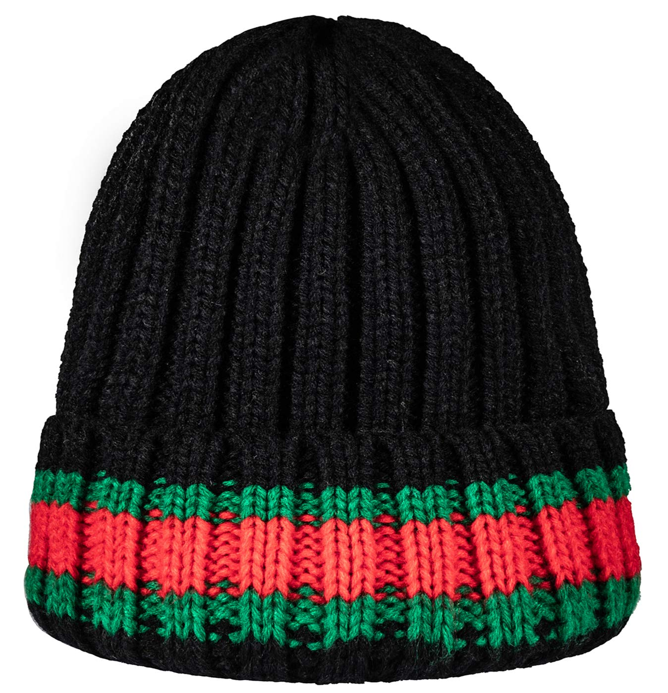dd16703eeeb GreatParagon Winter Hats for Men Knit Hat Beanie Slouchy Hats Skull Cap  Thick Fleece Lining product