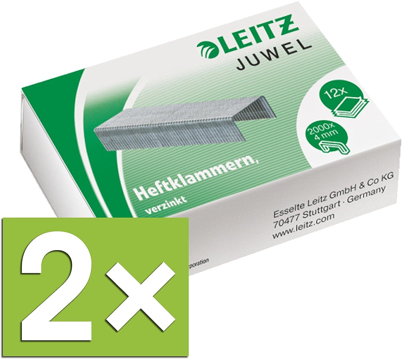 LEITZ agrafe JUWEL, zingué, 4 mm Esselte Leitz 56400000