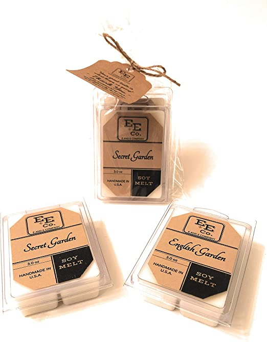 sample box soy wax £5.00 scented melts