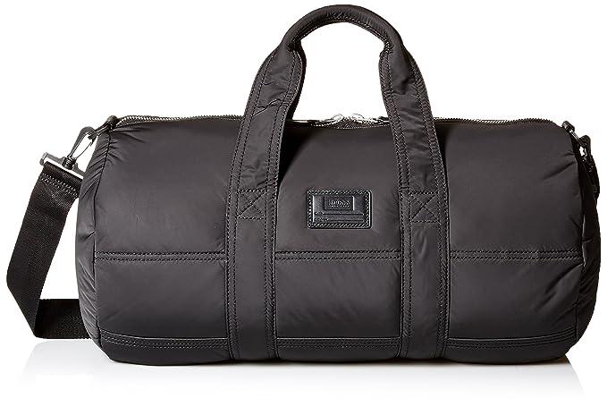 5adb99b957 Hugo BOSS Mens Bomber Holdall Weekender Bag Duffel Bags - Black ...