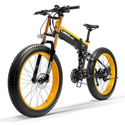 Nueva T750Plus bicicleta de eléctrica, bicicleta de nieve con sensor de asistencia a pedales de