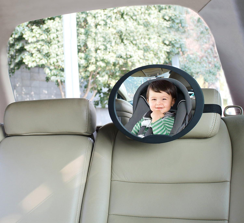 BabyDan Adjustable Wide Angled Rear Seat Mirror Large