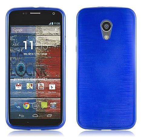 Cadorabo Funda para Motorola Moto G2 en Azul: Amazon.es ...